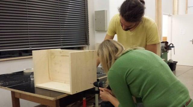 Berliner Hocker bauen Bethaus