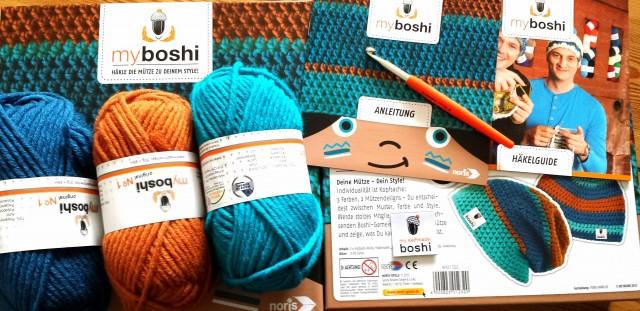 Inhalt Myboshi Geschenkset - Geschenkidee Weihnachten