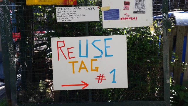 Re Use Tag im Prinzessinengarten Berlin / Upcycling