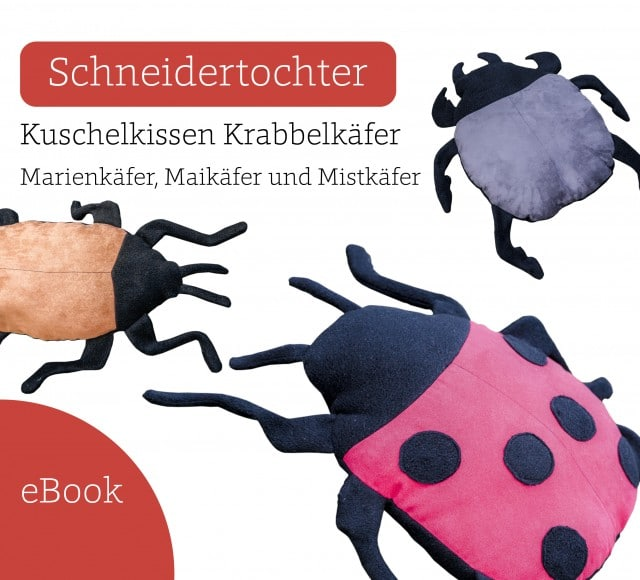 Ebook Nähanleitung Käfer nähen