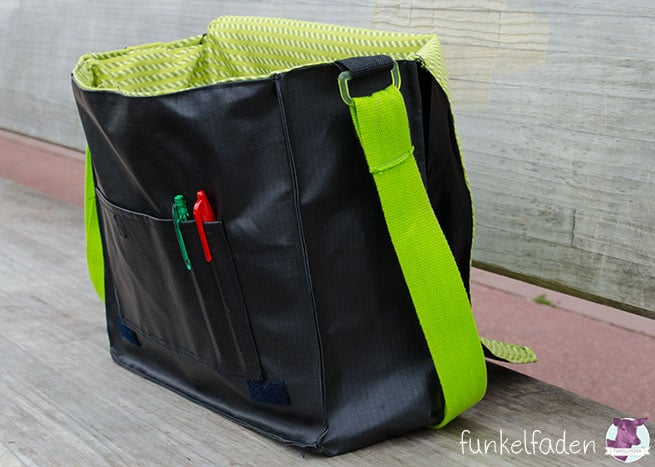 DIY - Nähanleitung - Messenger Bag