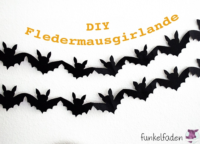 DIY Fledermausgirlande