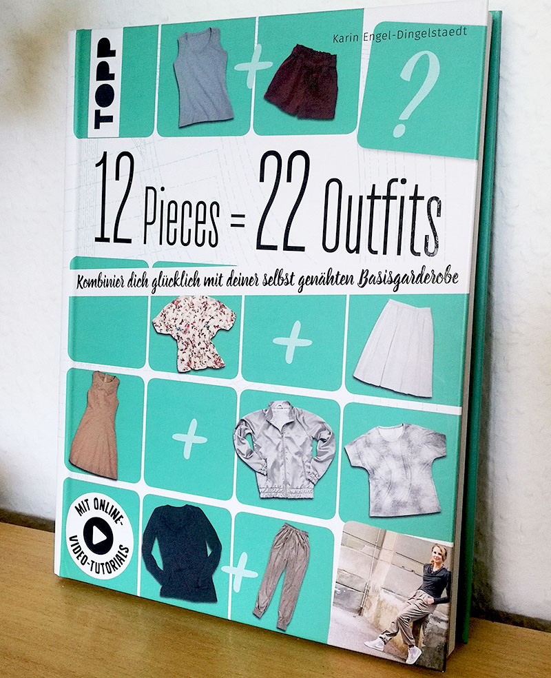 12 Pieces 22 Outfits TOPP Verlag Nähbuch