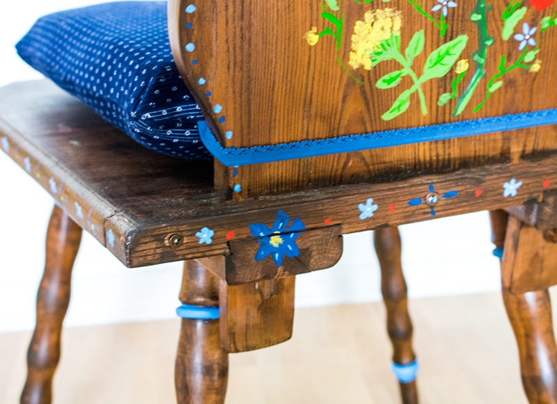 Anleitung Upcycling Stuhl