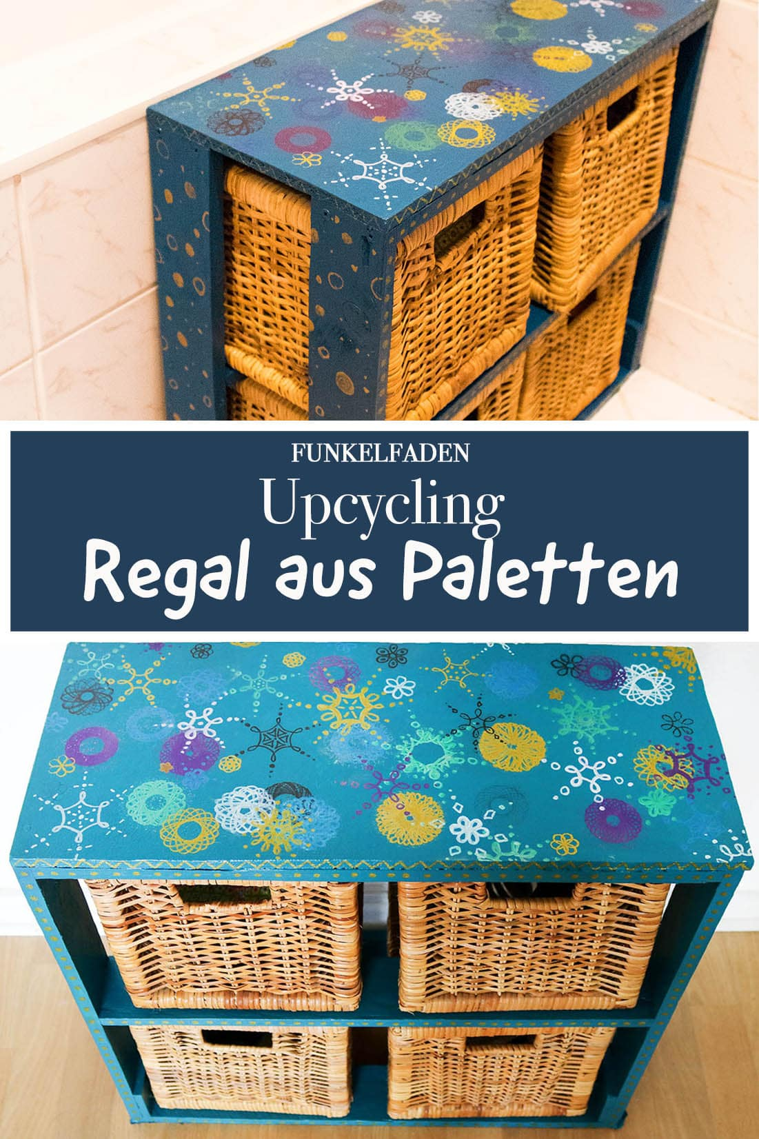 Upcycling Regal aus Paletten