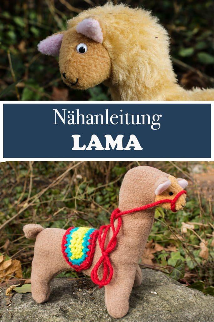 Lama Nähen - Nähanleitung mit grafisch Schnittmuster Lama - Nähanleitung mit grafisch Schnittmuster Lama