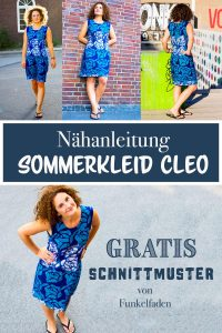 Nähanleitung Sommerkleid Cleo