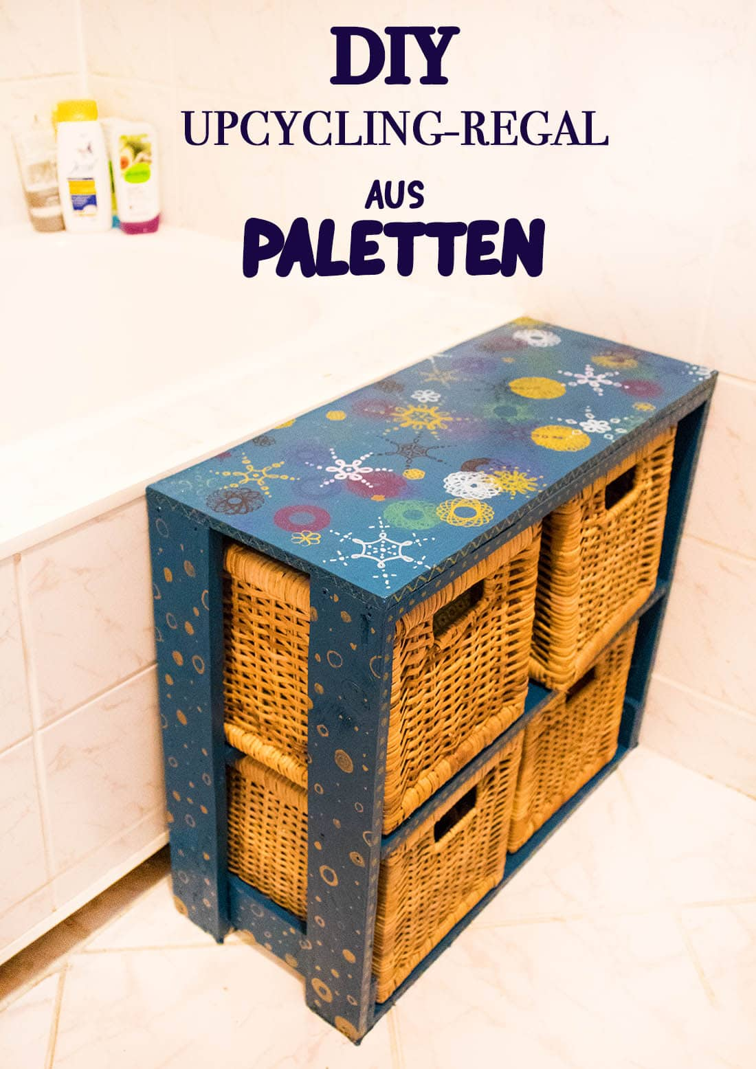 DIY - Upcycling Regal aus Palletten