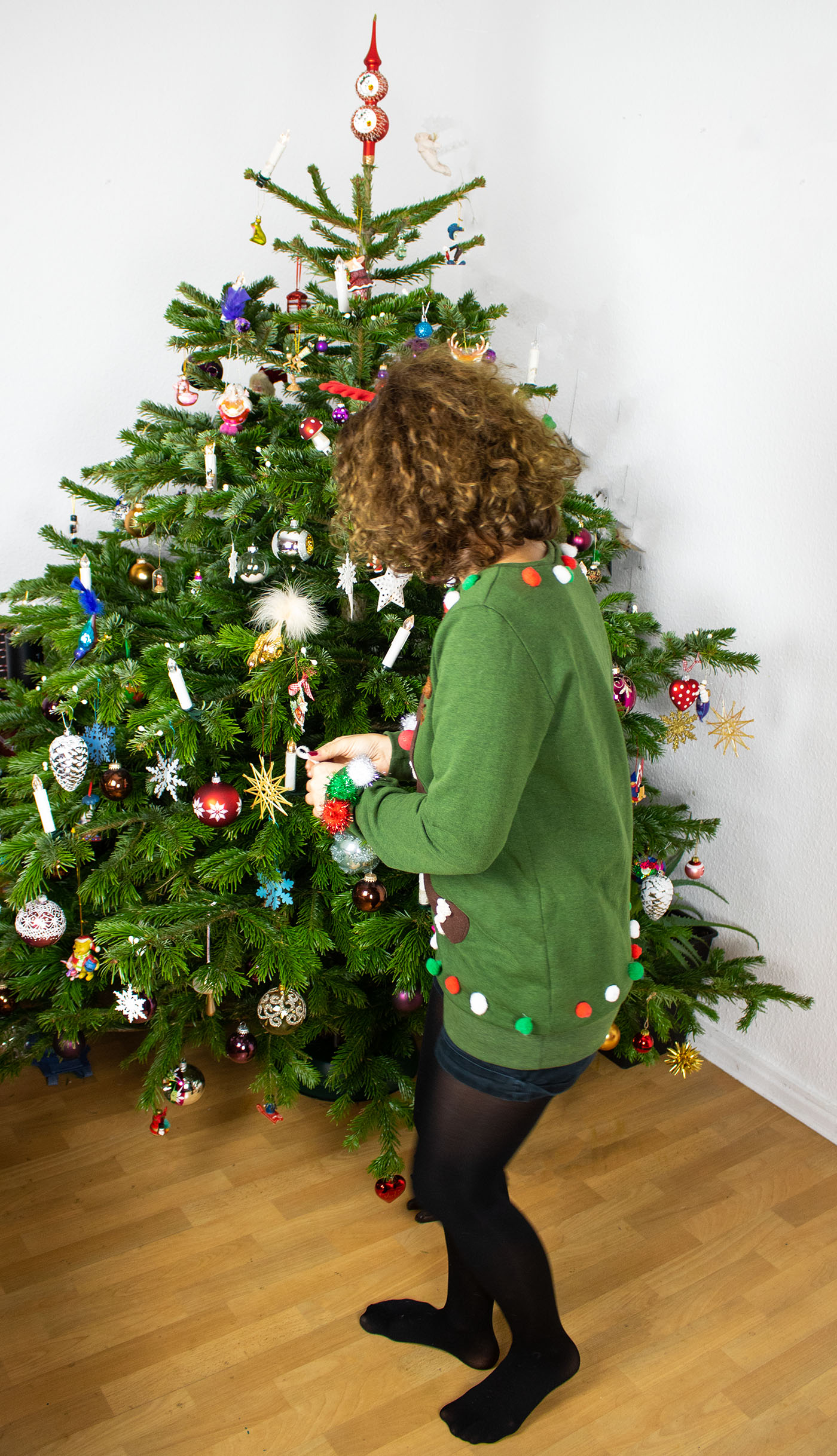 Weihnachtspullover selber nähen / Ugly Christmas Sweater