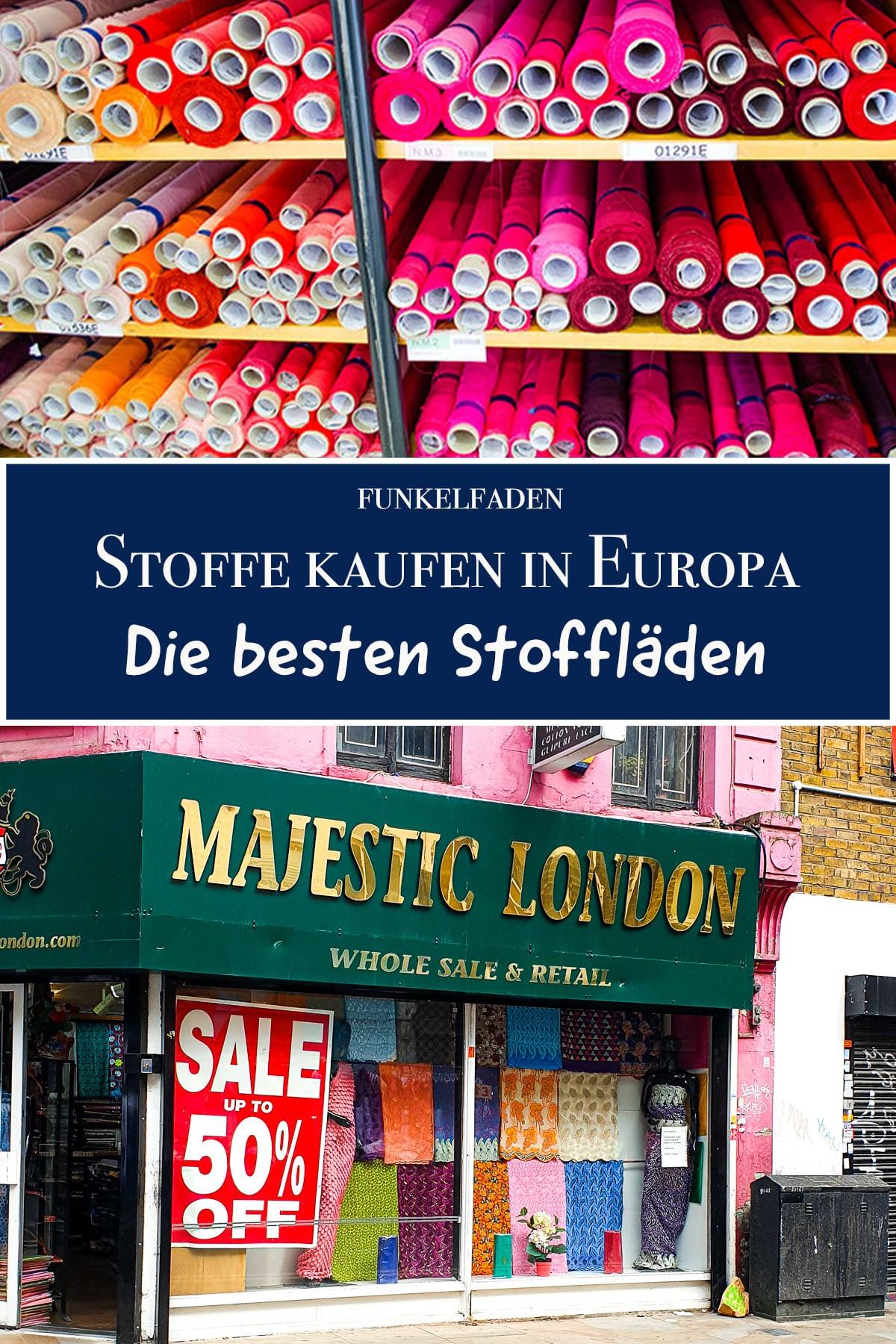 Stoffe kaufen in Europa die besten Stoffläden für den Urlaub