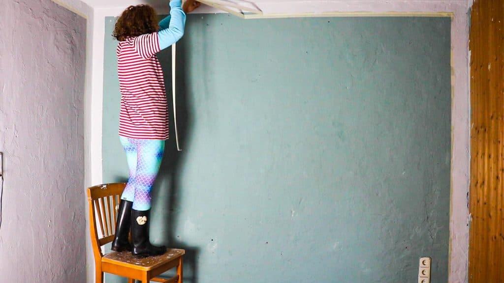 Funkelfaden Haus renovieren - Zimmer streichen im Schnäppchenhaus