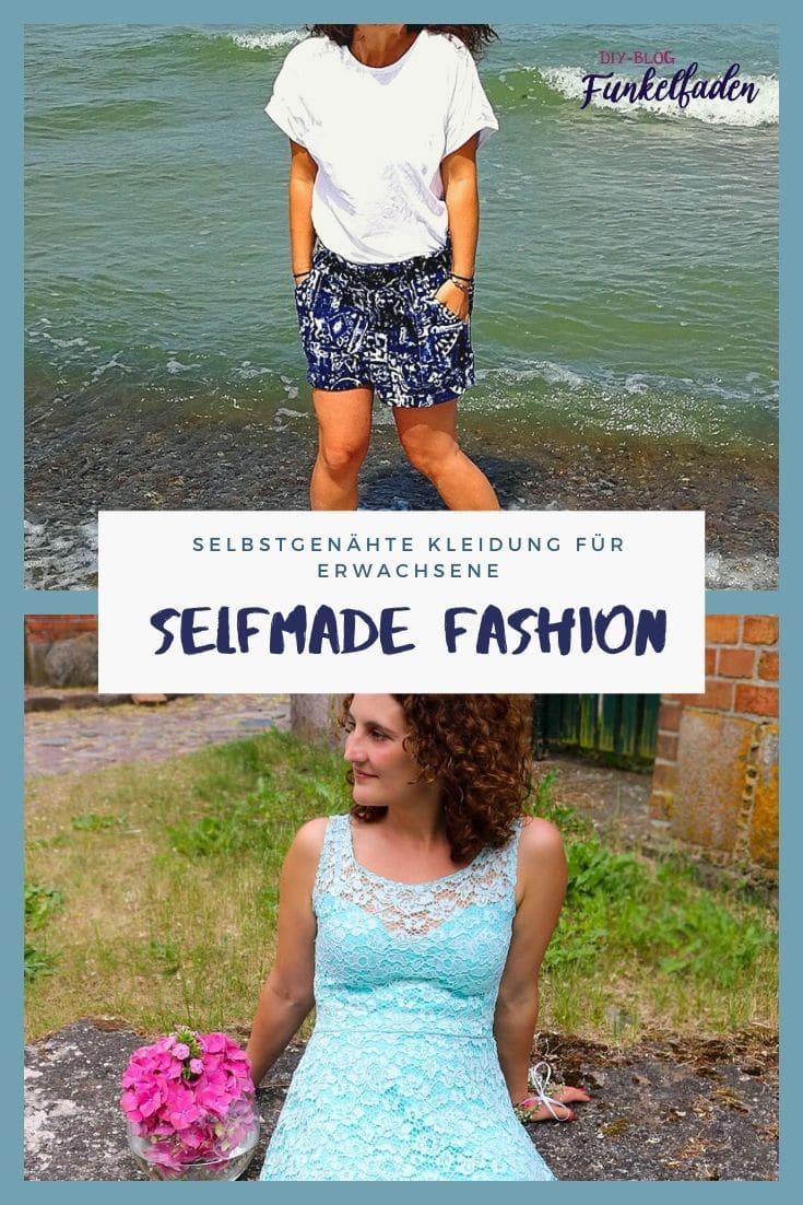 Selfmade Fashion– So geht selbstgenähte Kleidung für Erwachsene