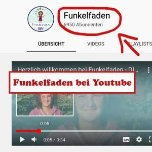 Funkelfaden bei Youtube